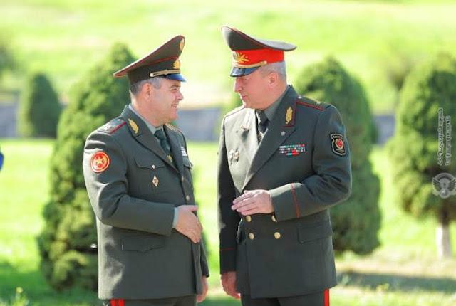 Jefe de las Fuerzas Armadas de Bielorrusia llega a Armenia