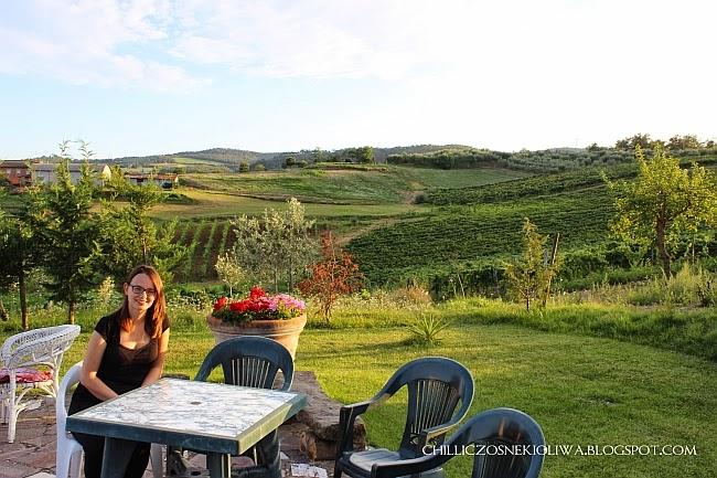 Toskania krajobrazy