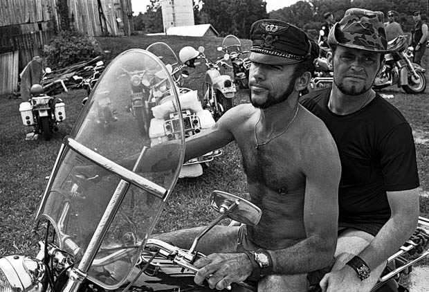 Forgotten Black And White Photographs Of A Gay Motorcycle -7118