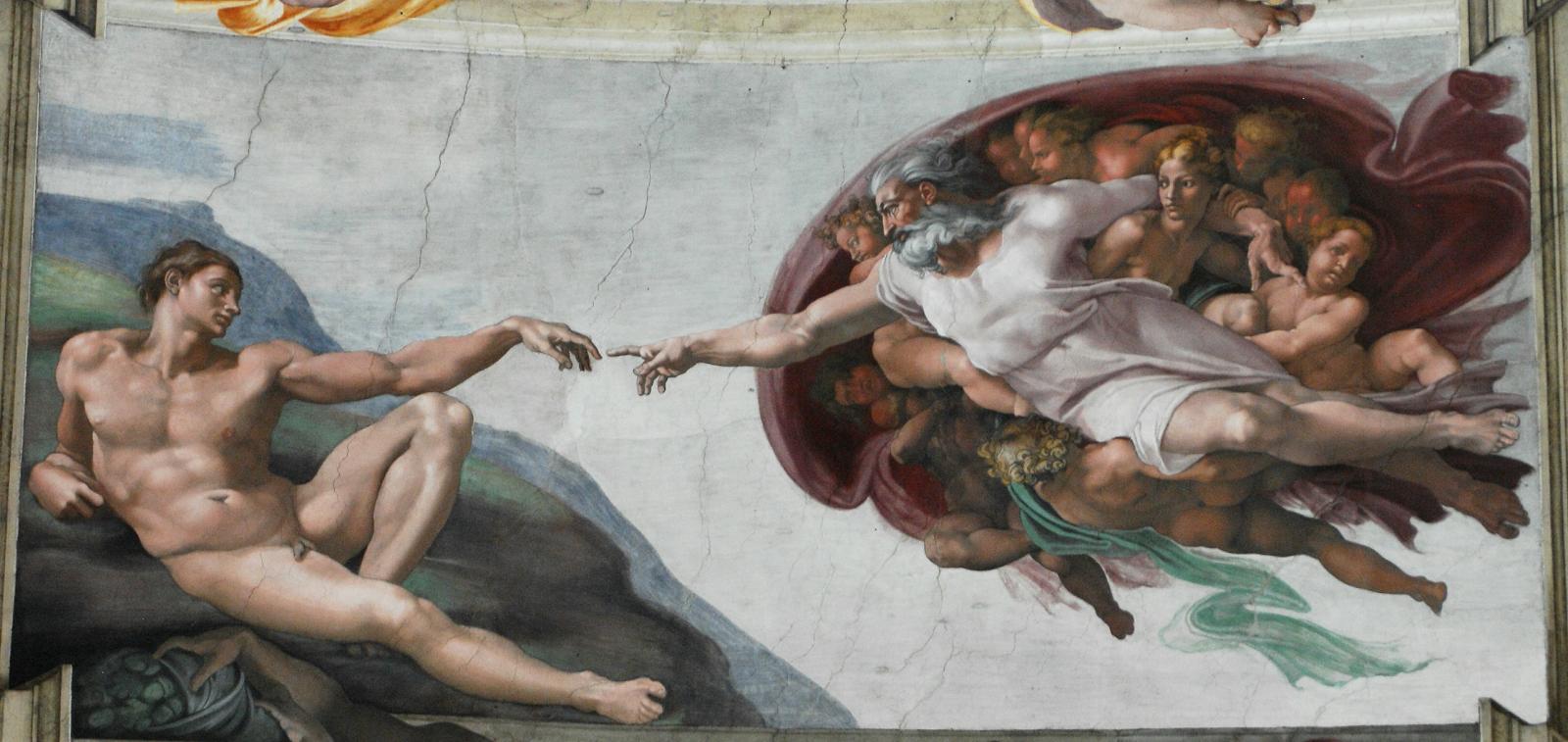 God2 Sistine Chapel - Maravilha Capela Sistina de Michelangelo