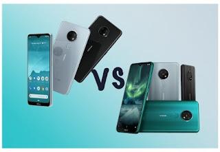 Nokia 6.2 vs Nokia 7.2