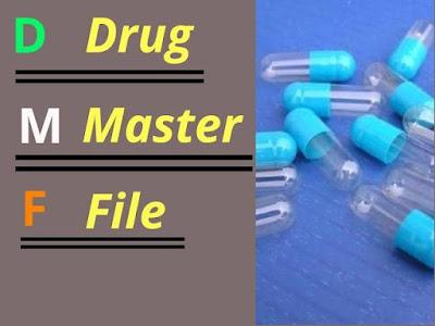 Drug master file