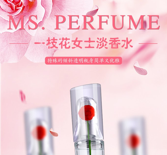 Lady Perfume 50ml Floral Eau de Toilette Lasting Fresh and Elegant Body Spray Lady Glass Bottle Women Perfume Fragrance Atomizer