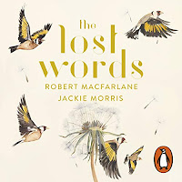 Audiobook cover for The Lost Words