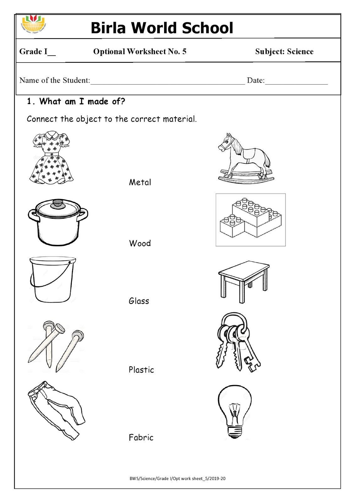 medium resolution of WORLD SCHOOL OMAN: Homework for Grade 1 as on 18-02-2020