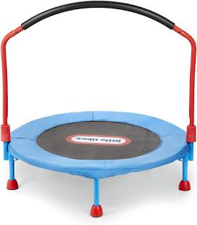 little toddler trampoline; easy store trampoline for toddler; indoor toddler trampoline; easy store little tikes trampoline;