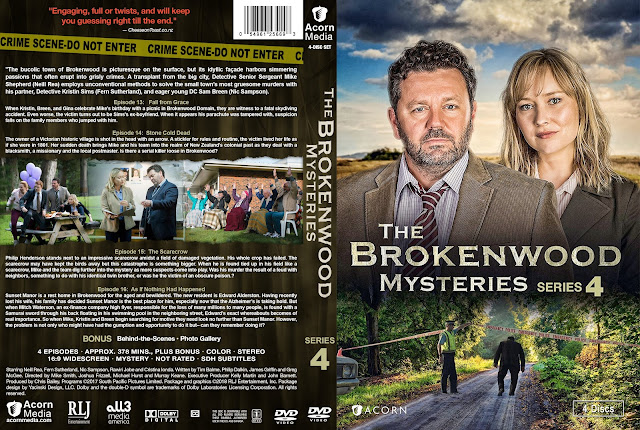 The Brokenwood Mysteries Season 4 DVD Cover