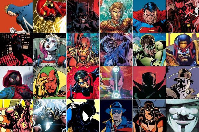 Mejores superhéroes de cómic