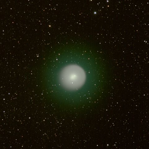 Coma of comet 17P/Holmes