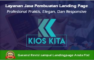 Kios Kita Jasa Landing Page