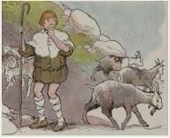 Dongeng Gembala Kambing dan Kambing Liar (Aesop) | DONGENG ANAK DUNIA