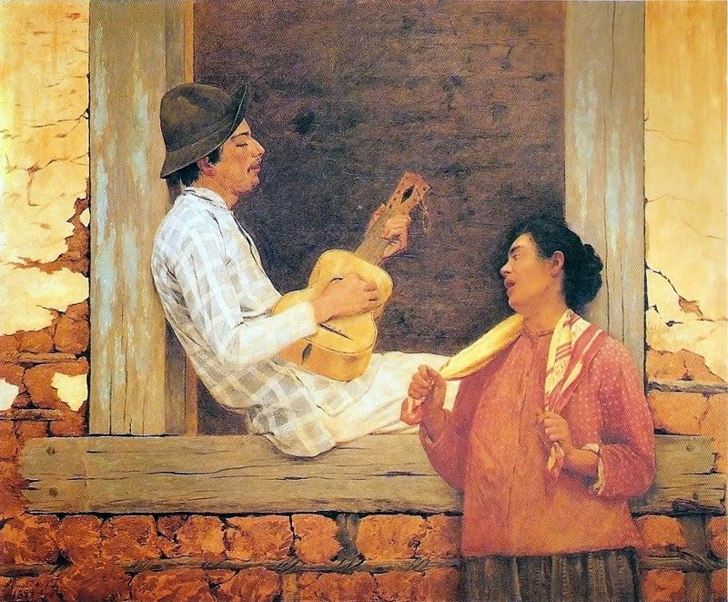 O Violeiro - Almeida Júnior e suas principais pinturas ~ brasileiro