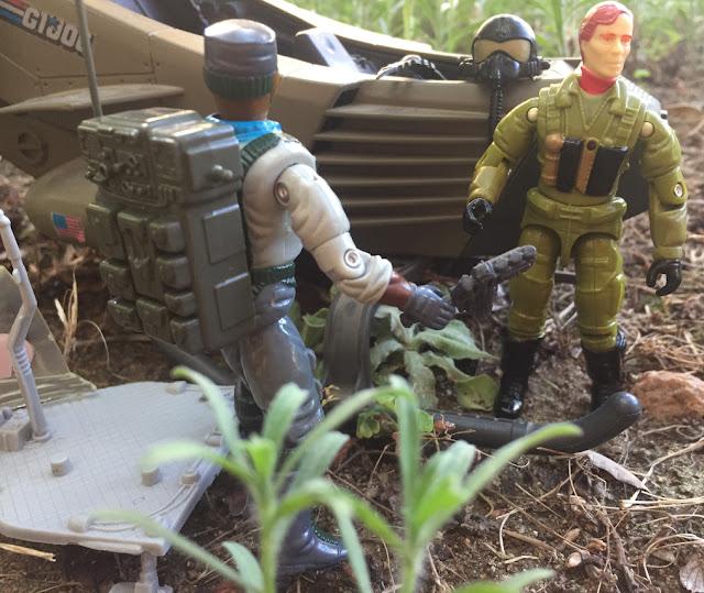 1993 Ace, Ghost Striker X-16, 2006 Overlord, Convention Exclusive, Monster Blaster APC, Mega Marines, 1994 Stalker, General Flagg, Gung Ho, Razor Blade, 1990 Stretcher, 1991 Retaliator