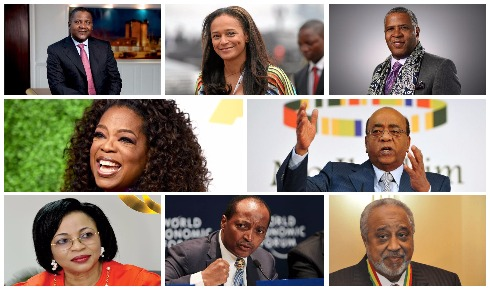 Here's a list of the World's Black Billionaires of 2019