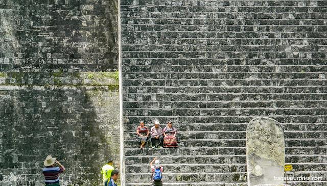 Templo da Lua, Tikal, Guatemala