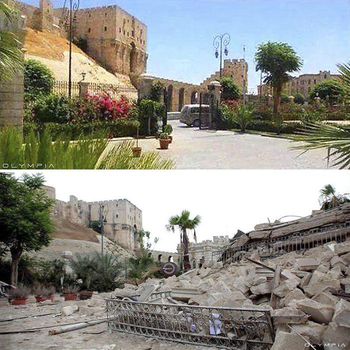 كانت سوريا الحرب Aleppo-Syria-Before-