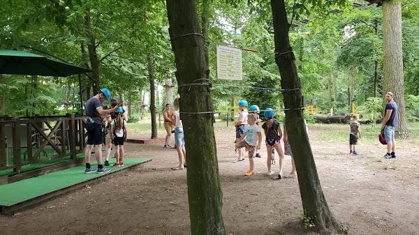 Najlepszy park linowy Leszno