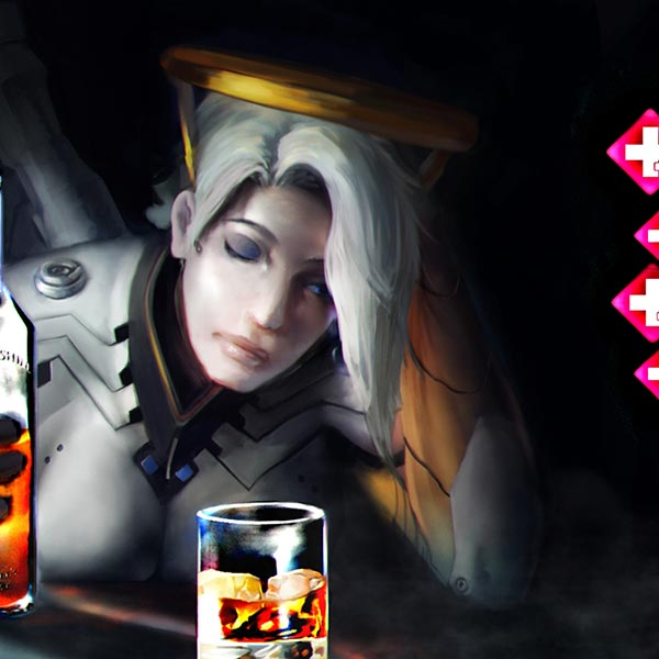 Life Of A Mercy Main - Overwatch Wallpaper Engine
