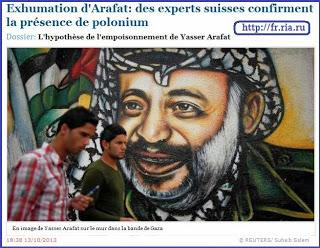 εκδήλωση για τον θάνατο του Αραφάτ