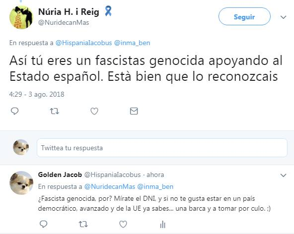 Núria H i Reig, NuridecanMas VS Golden Jacob