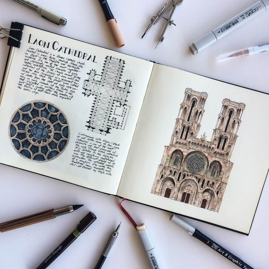 05-Laon-Cathedral-France-Oğuzhan-Çengel-www-designstack-co