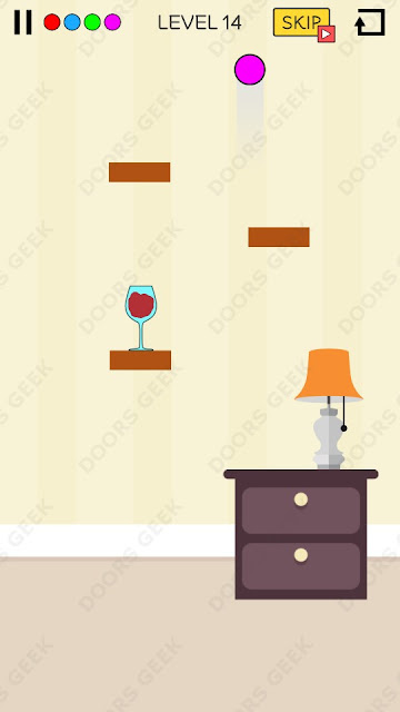 Spill It! Level 14 Walkthrough, Solution, Cheats for Android, iPhone, iPad and iPod