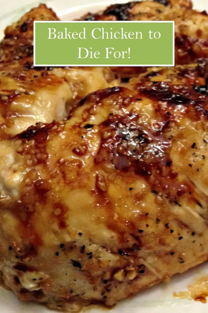 Baked Chicken to Die For #Baked #Chicken #toDieFor! #BakedChickentoDieFor!.