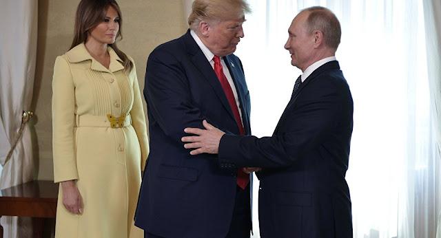 بوتين يجري مكاملة هاتفية مع ترامب