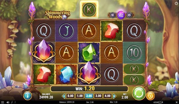 Main Gratis Slot Indonesia - Shimmering Woods Play N GO