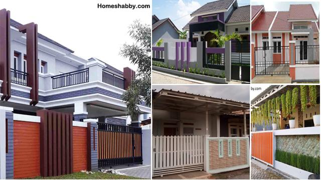 Gambar Pagar Rumah Minimalis Terbaru Yang Bisa Anda Contoh Homeshabby Com Design Home Plans Home Decorating And Interior Design