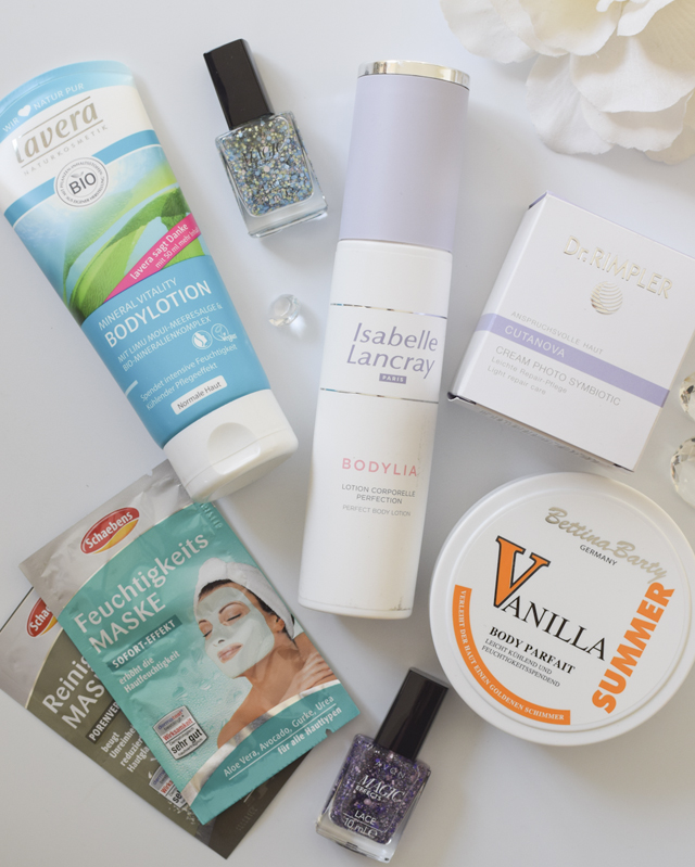 Der Inhalt der Beautypress Beautybox