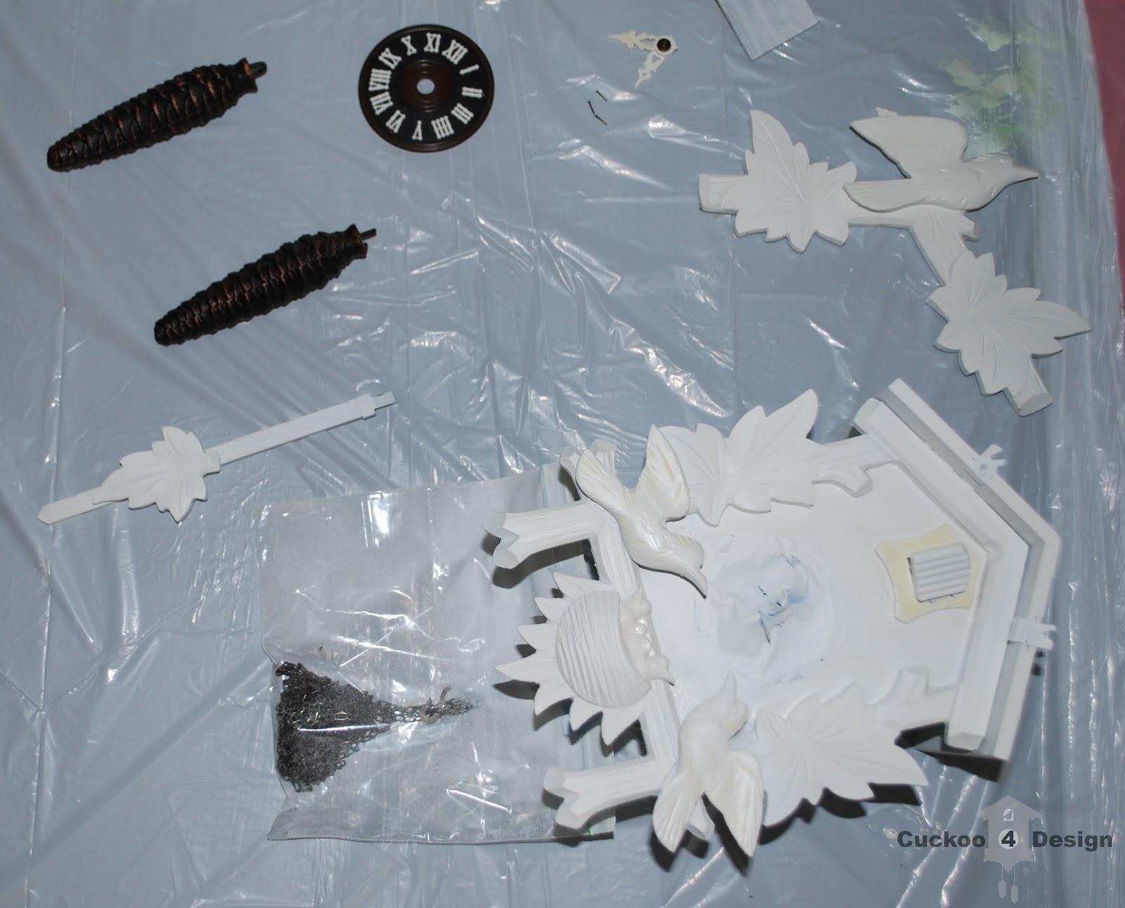 painted cuckoo clocks | Cuckoo4Design