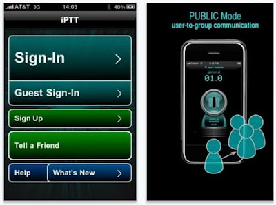 Applenosol XCII: iPTT Push to Talk. Video Tutorial