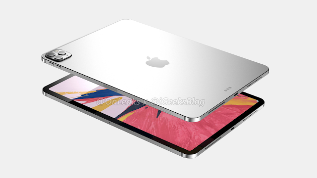 iPad Pro 2020.. أخر التسريبات عن التصميم والمواصفات التقنية (فيديو 360 درجة).