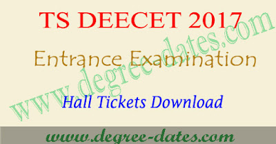 TS Deecet hall ticket download 2017 dietcet ttc results Telangana