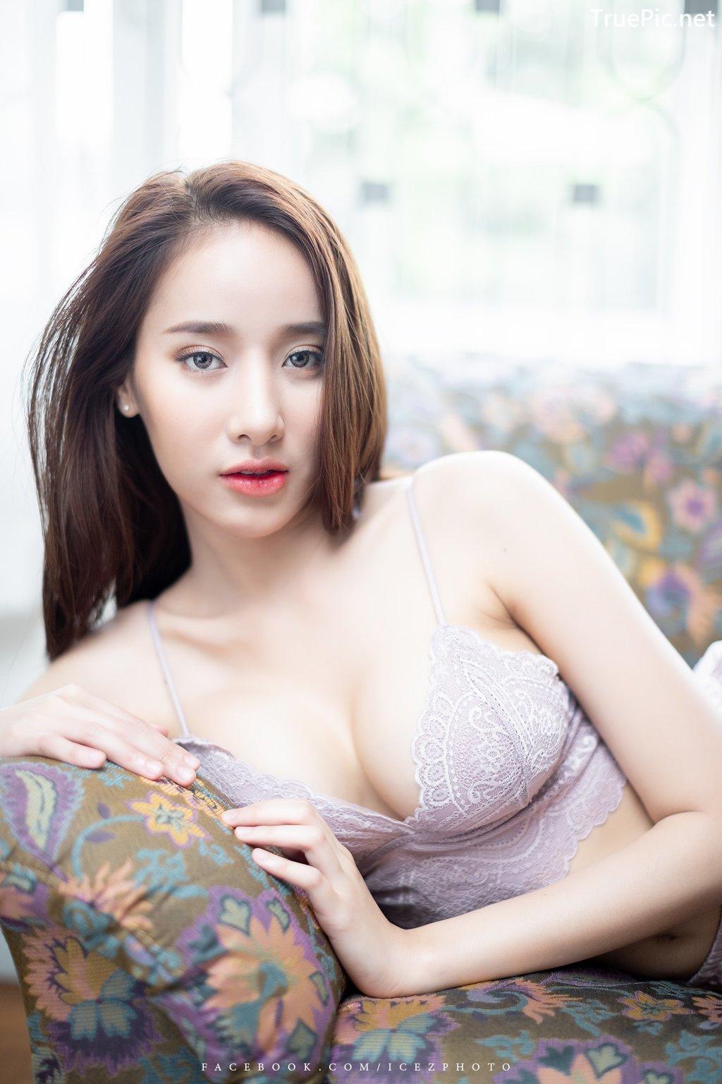 Image-Thailand-Hot-Model-Pichana-Yoosuk-Sexy-Purple-Bra-Shiny-Short-Pants-TruePic.net- Picture-4