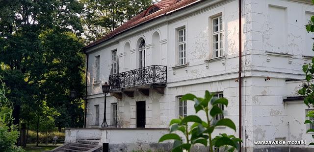 Warszawa Warsaw pałac Grochów park leśnika klasycyzm architektura architecture