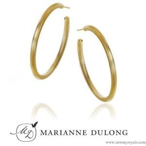 Crown Princess Mary in Marianne Dulong Esme Earrings