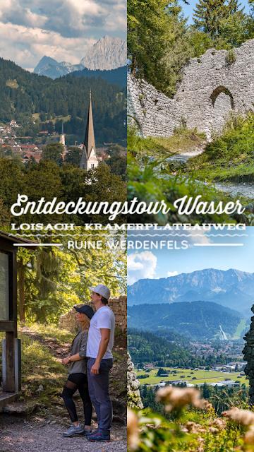 Entdeckungstouren Wasser Loisach - Kramerplateauweg - Ruine Werdenfels – Burgrain  Wandern Garmisch-Partenkirchen 20