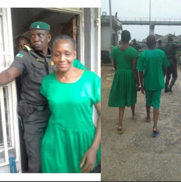 See What Armed Security Men Did with Kemi Olunloyo in Port Harcourt Prison (Photos)