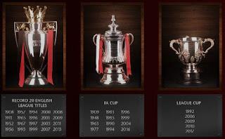 Manchester United Klub Tersukses Inggris dengan 43 Trofi