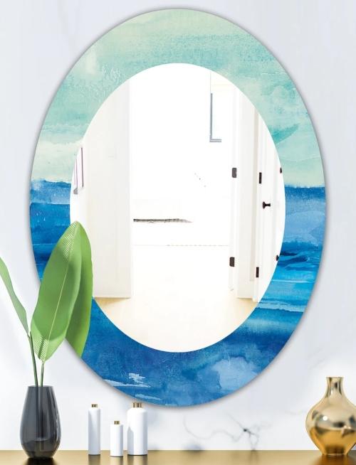 Blue Ocean Sea Mirror