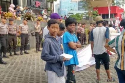 Banyak Anak di Bawah Umur Ikut Aksi Dukung Revisi UU KPK, Mengaku Diimingi Rp50 Ribu