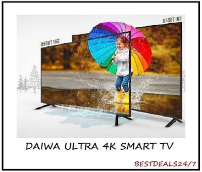 Indian Brand Daiwa Launches Ultra 4K Smart TV