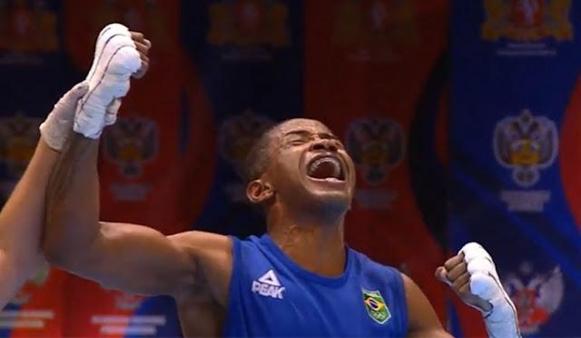 Boxeadores brasileiros na Olimpíada de Tóquio