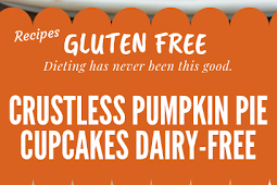 Gluten free Crustless Pumpkin Pie Cupcakes {Dairy-Free} #glutenfree