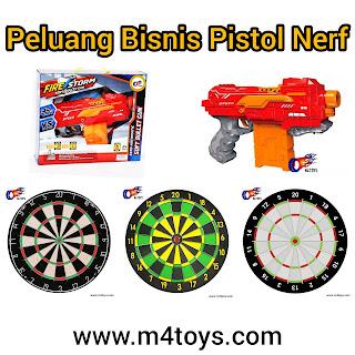 Peluang Bisnis Pistol Nerf
