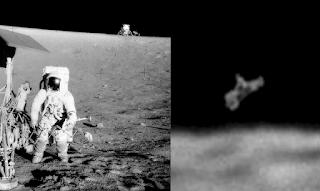 UFO, Apollo 12, moon