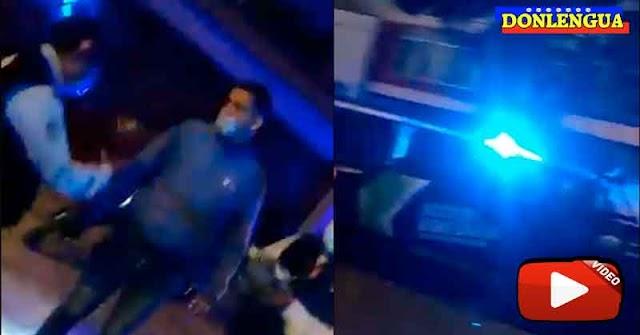 Repartidor venezolano en Perú fue recibido a tiros en casa de un cliente
