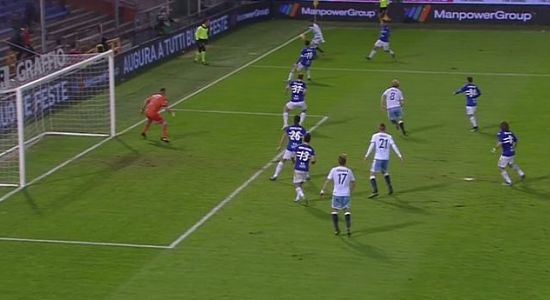 Sampdoria Lazio 1-2, LE PAGELLE. Schick fa sperare, disastro Regini; Anderson devastante, Milinkovic e Parolo stendono la Samp.